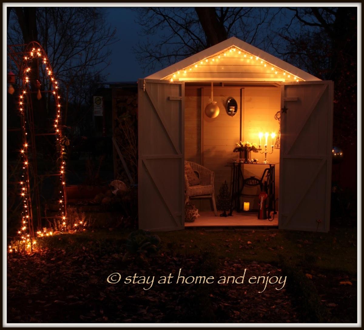 Advent im Garten...
