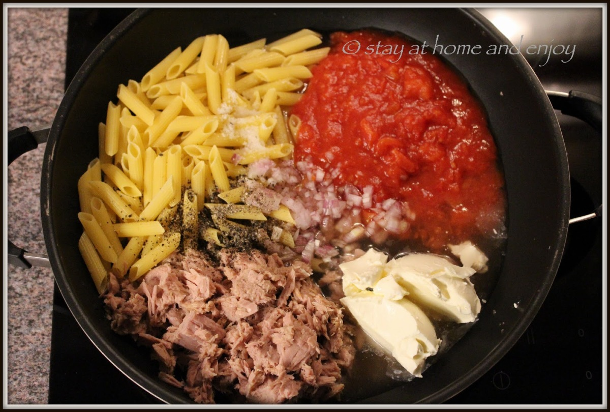 One Pot Pasta III. - mit Thunfisch