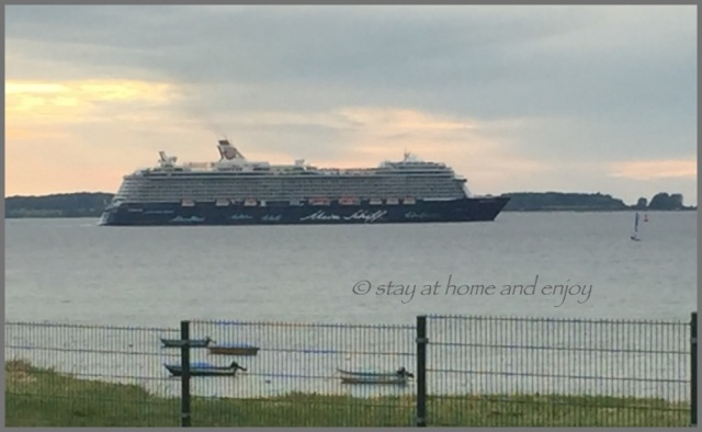 Mein Schiff 3 - Kieler Förde - stay at home and enjoy