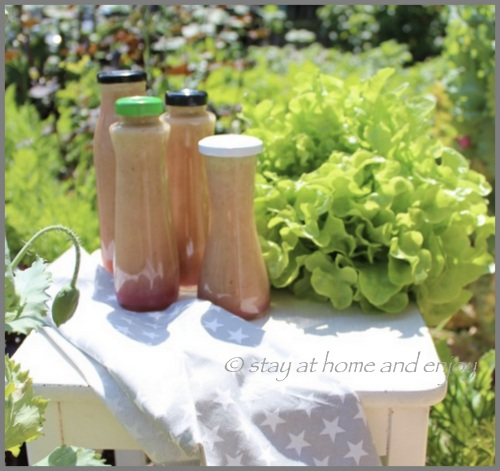 Salatdressing - stay at home and enjoy
