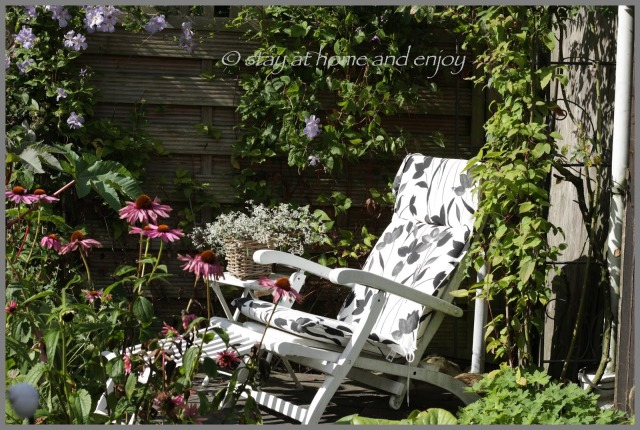 Durch den Garten im August - stay at home and enjoy