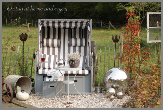 Herbst im Garten - stay at home and enjoy