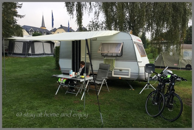 Camping an der Mosel - stay at home and enjoy