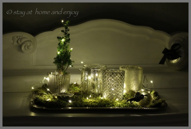 Einstimmen auf den Advent - stay at home and enjoy