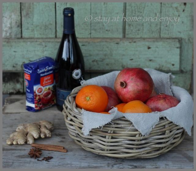 Glühwein-Gelee - stay at home and enjoy