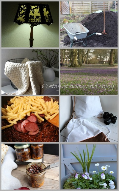 Jahresrückblick März 2017 - stay at home and enjoy