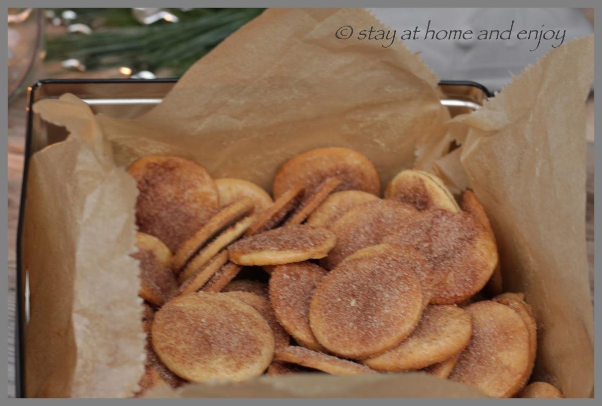 Weihnachtsbäckerei für Zimtfans
