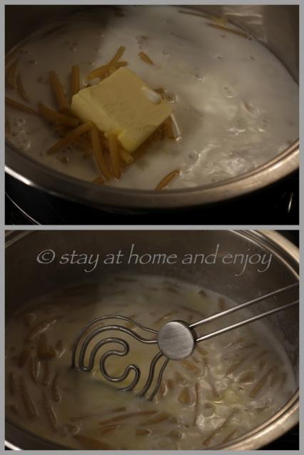 Käse-Makkaroni - stay at home and enjoy