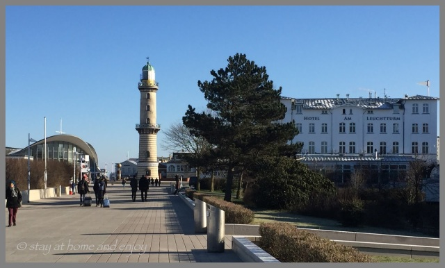 Warnemünde im Winter - stay at home and enjoy