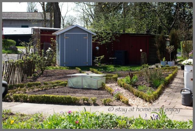 Gartenrundgang April 18 - stay at home and enjoy