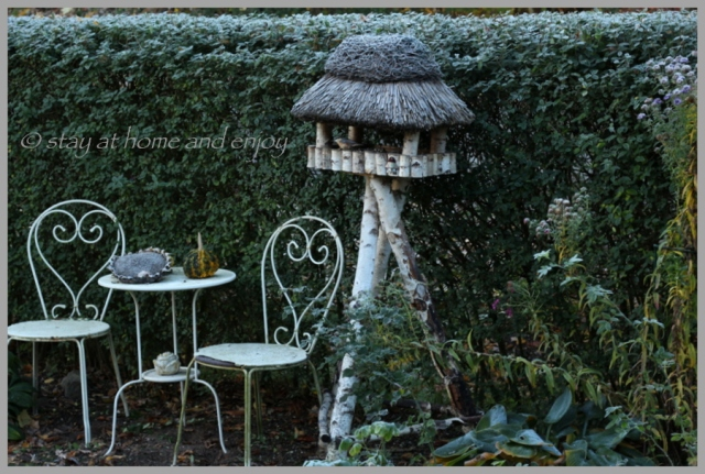 Der erste Frost1 - stay at home and enjoy