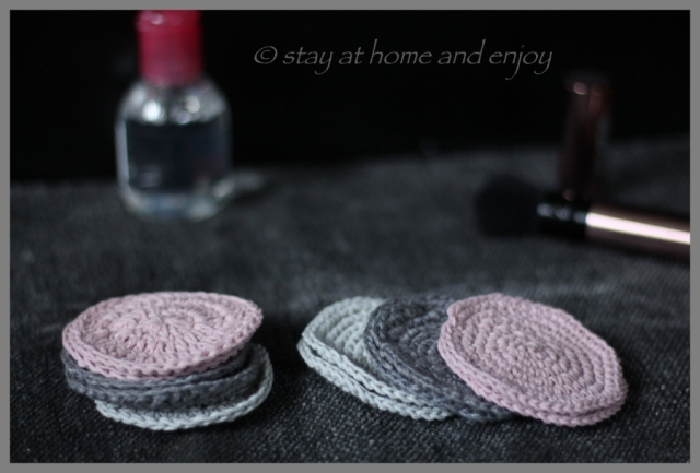 Kosmetikpads - stay at home and enjoy4