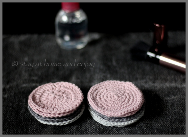 Kosmetikpads - stay at home and enjoy5