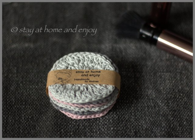 Kosmetikpads - stay at home and enjoy7
